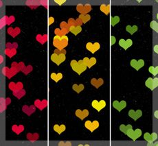 Heart Textures by favo123 @ deviantart