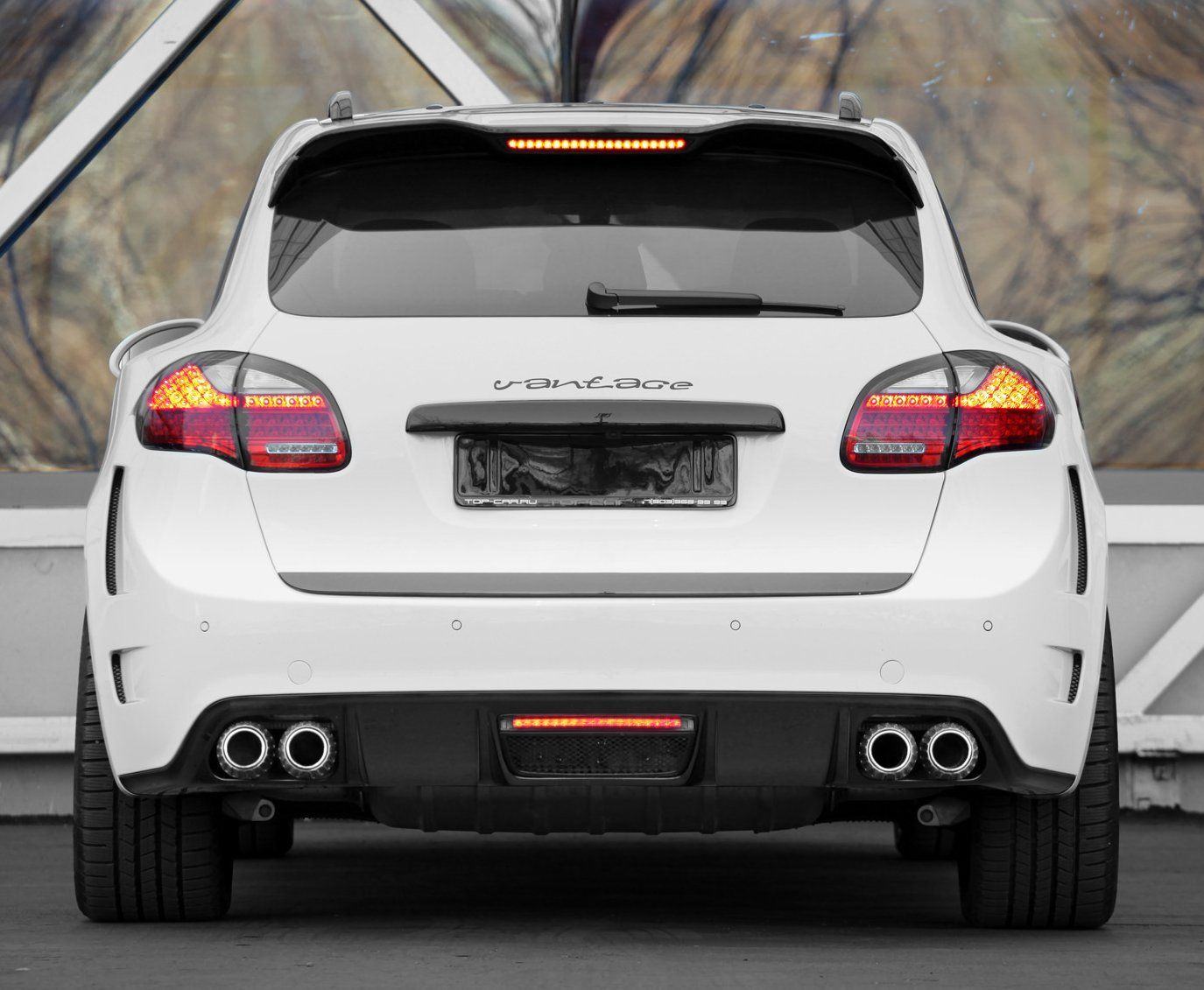Steve White Vw >> Porsche Cayenne Vantage GTR2 by TopCar | Only cars and cars