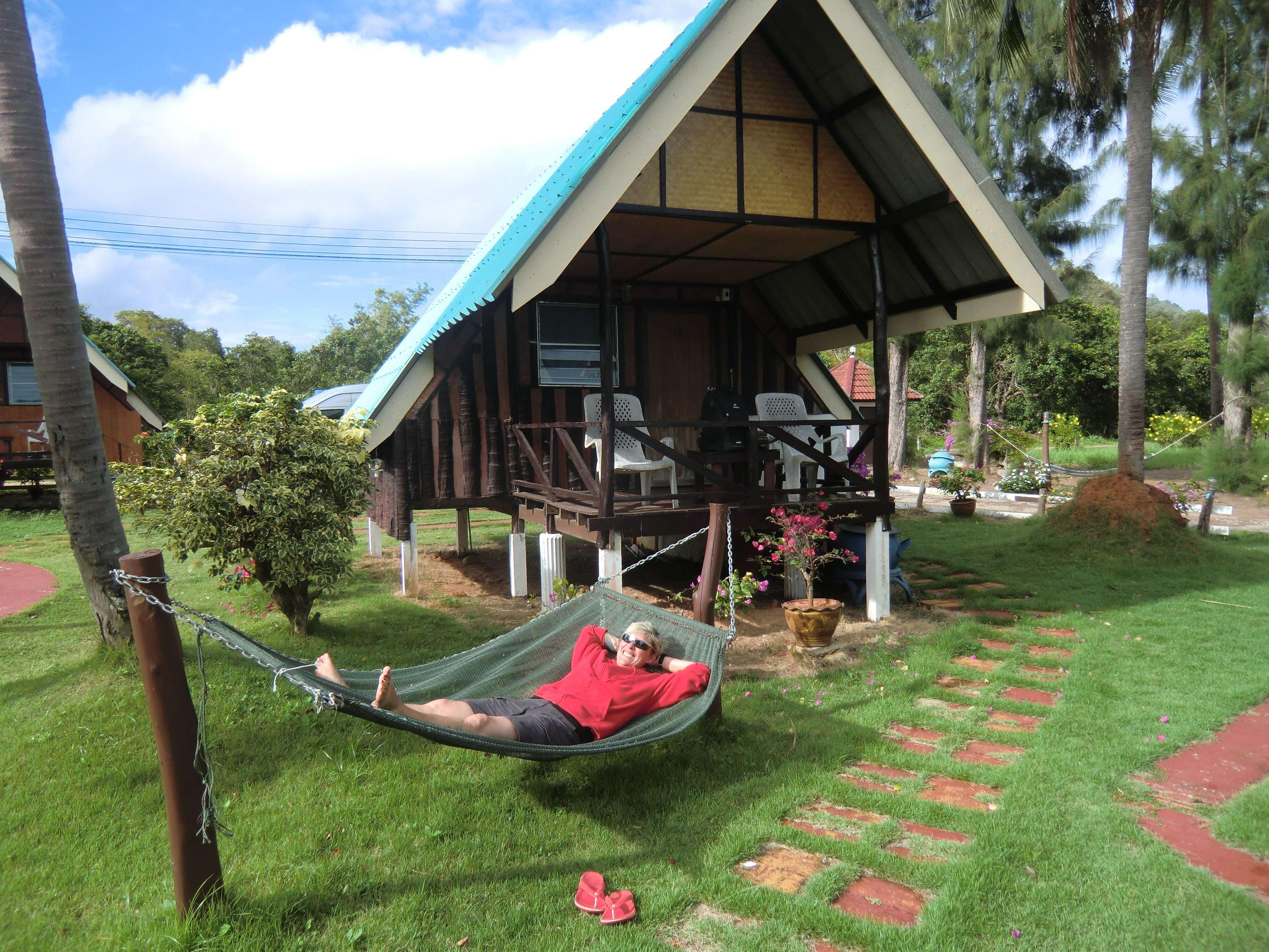 Unser Haus......für 900 THB die Nacht.....