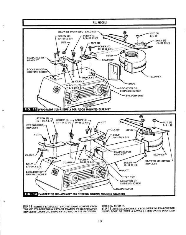 knee freezer ac install - the 1947