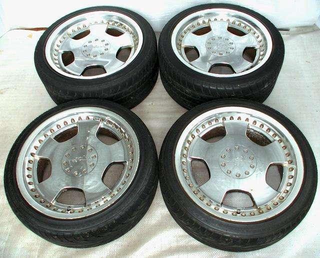 WORK DDC rims alloy wheels 18 8J 9J 5x114 Aristo Chaser Lexus IS