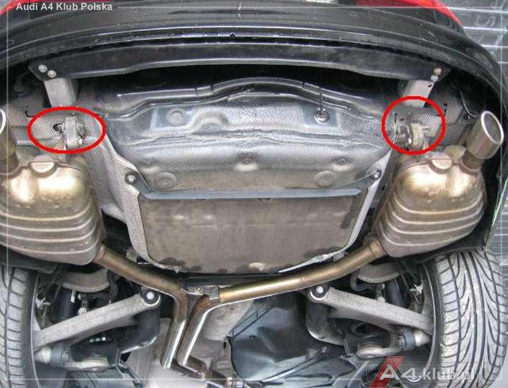 A4 And A5 Exhaust Te Same